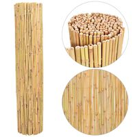 vidaXL Ograja iz bambusa 250x170 cm