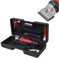 vidaXL Električne škarje za konje 6-delni komplet 550 W