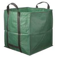 Nature Vrtna vreča za odpadke kvadratna zelena 252 L