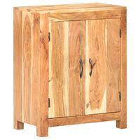 vidaXL Komoda 60x35x75 cm trden akacijev les