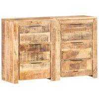 vidaXL Predalnik 118x33x75 cm trden mangov les