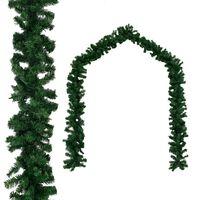 vidaXL Božična girlanda PVC 20 m