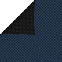 vidaXL Plavajoča PE solarna folija za bazen 1200x600 cm črna in modra