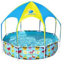 Bestway Prostostoječi bazen za otroke Steel Pro UV Careful 244x51 cm