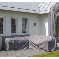 Madison Pokrivalo za zunanje pohištvo 235x235x70 cm sivo