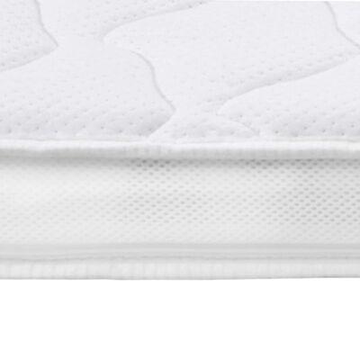 vidaXL Nadvzmetnica 100x200 cm pena z gelom 7 cm