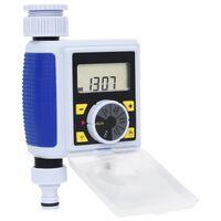 vidaXL Digitalni vrtni časovnik za zalivanje z enojnim odvodom