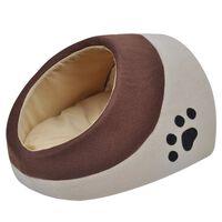 Topla postelja za mačke iz flisa L