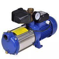Modra brizgalna črpalka z merilnikom 1300 W 5100 L/h