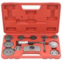 vidaXL Komplet orodja za ponastavitev zavornih batov 12-delni