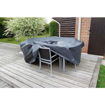 Nature Pokrivalo za vrtno pohištvo za okrogle mize 205x205x90 cm