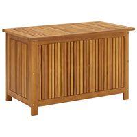 vidaXL Vrtna škatla za shranjevanje 90x50x106 cm trden akacijev les