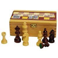 Abbey Game Figure za šah 87 mm črne / bele 49CL