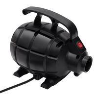 vidaXL Električna zračna tlačilka črna