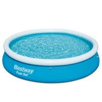 Bestway Fast Set napihljiv bazen okrogel 366x76 cm 57273