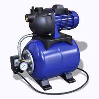 Vrtna električna črpalka 1200W Modra barva