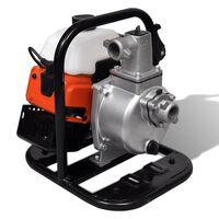 vidaXL Bencinska vodna črpalka 2-taktna 1,2 kW 0,95 L