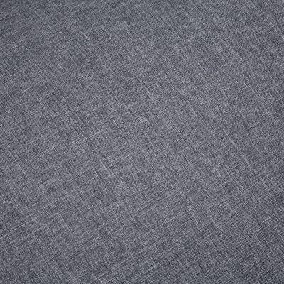 vidaXL Sedežna garnitura za 5 oseb 2-delna iz blaga temno siva