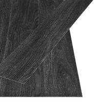 vidaXL Samolepilne talne deske 4,46 m² 3 mm PVC hrast antracit