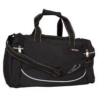 Avento srednje velika črna športna torba 50TD