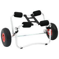 Voziček za Kajak Aluminijasti