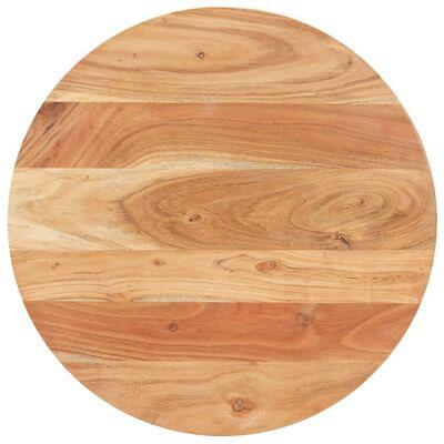 vidaXL Bistro miza Ø 60x76 cm trden akacijev les
