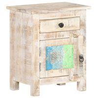 vidaXL Nočna omarica 40x30x50 cm robusten akacijev les