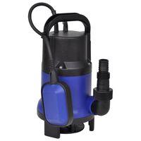 vidaXL Električna vrtna potopna črpalka za umazano vodo 400 W