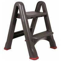 Curver Zložljiva stopnica 150 kg antracitna