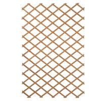 Nature Oporna mreža za rastline 100x200 cm lesena naravna