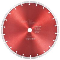 vidaXL Diamantni rezalni disk iz jekla 300 mm