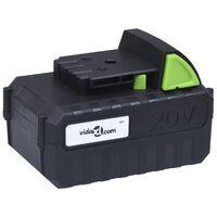 vidaXL Baterija 20V 4000 mAh Li-ion