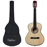 """vidaXL Klasična kitara za otroke in začetnike 8-delni komplet 3/4 36"""""""