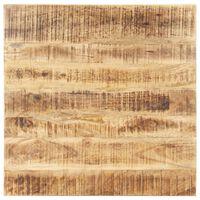 vidaXL Mizna plošča iz trdnega mangovega lesa 25-27 mm 70x70 cm