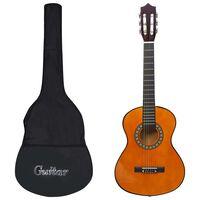 """vidaXL Klasična kitara za začetnike in otroke s torbo 1/2 34"""""""