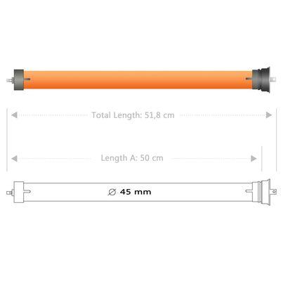 vidaXL Cevni motorji 5 kosov 30 Nm