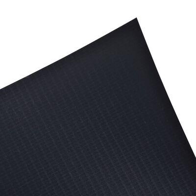 vidaXL Vrtno platno PVC 70x0,19 m temno sivo
