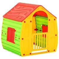 vidaXL Otroška hišica 102x90x109 cm