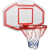 vidaXL Tridelni komplet stenske košarkarske table 90x60 cm
