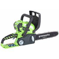 Greenworks Verižna žaga brez 40 V baterije G40CS30 30 cm