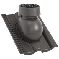 vidaXL Strešni ventilator antraciten