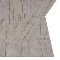 vidaXL Samolepilne talne deske 4,46 m² 3 mm PVC hrast sprane