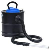vidaXL Vakuumski sesalnik za pepel HEPA filter 1200 W 20 L nerj. jeklo