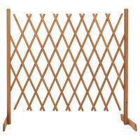 vidaXL Vrtna mrežasta ograja oranžna 180x100 cm les jelke