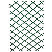 Nature Oporna mreža za rastline 100x200 cm PVC zelene barve 6040704