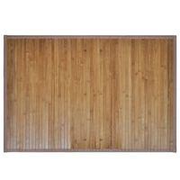 2 Kopalniški Preprogi iz Bambusa 40 x 50 cm Rjave Barve