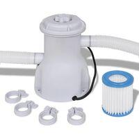 vidaXL Filtrirna črpalka za bazen 300 gal/h