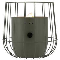 Cosi Plinska svetilka Cosiscoop Basket olivne barve
