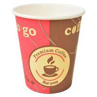 vidaXL 1000 kosov kavnih lončkov za enkratno uporabo 240 ml (8 oz)