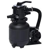 vidaXL Črpalka za bazen s peščenim filtrom 7-pozicijski ventil 18 L
